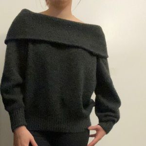 H&M over the shoulder sweater